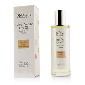 Sweet Vanilla Dry Oil   Multi Use For Face, Body & Hair