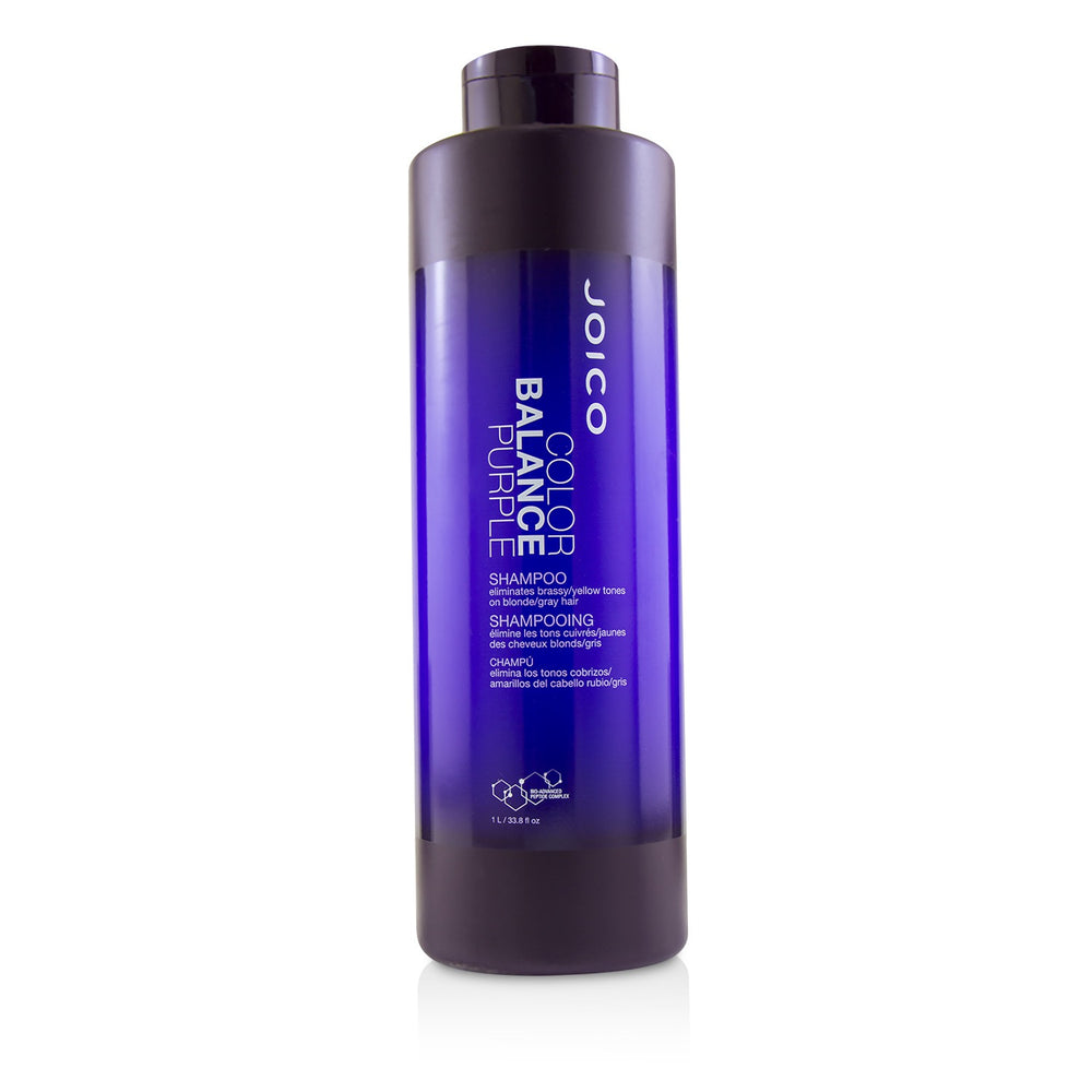 Color Balance Purple Shampoo (Eliminates Brassy/Yellow Tones On Blonde/Gray Hair) 221386