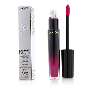 L'absolu Lacquer Buildable Shine & Color Longwear Lip Color # 366 Power Rose 221406