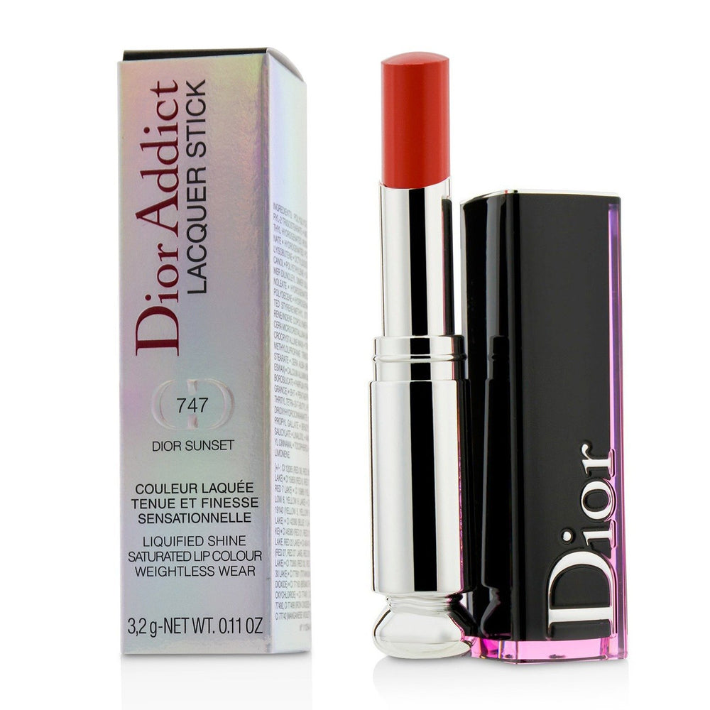 Load image into Gallery viewer, Dior Addict Lacquer Stick # 747 Dior Sunset 222301