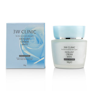 Excellent White Cream (Intensive Whitening)   For Dry To Normal Skin Types