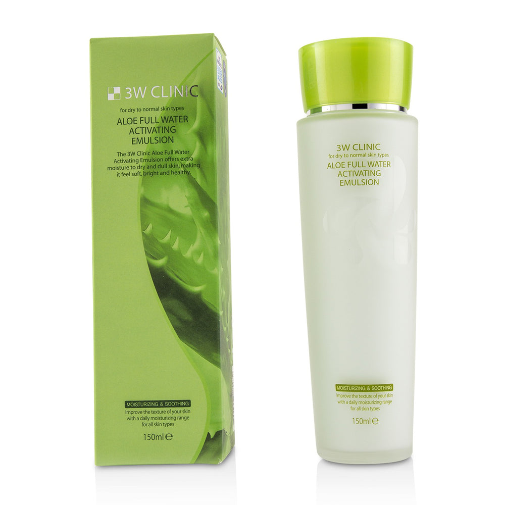 Aloe Full Water Activating Emulsion   For Dry To Normal Skin Types