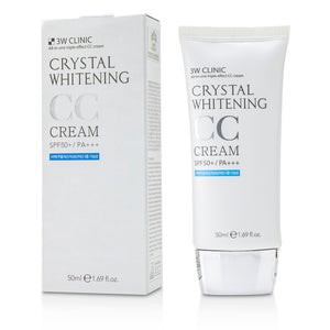 Load image into Gallery viewer, Crystal Whitening Cc Cream Spf 50+/Pa+++ #01 Glitter Beige 222826