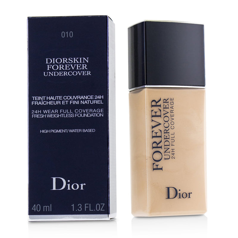 Diorskin Forever Undercover 24 H Wear Full Coverage Water Based Foundation
