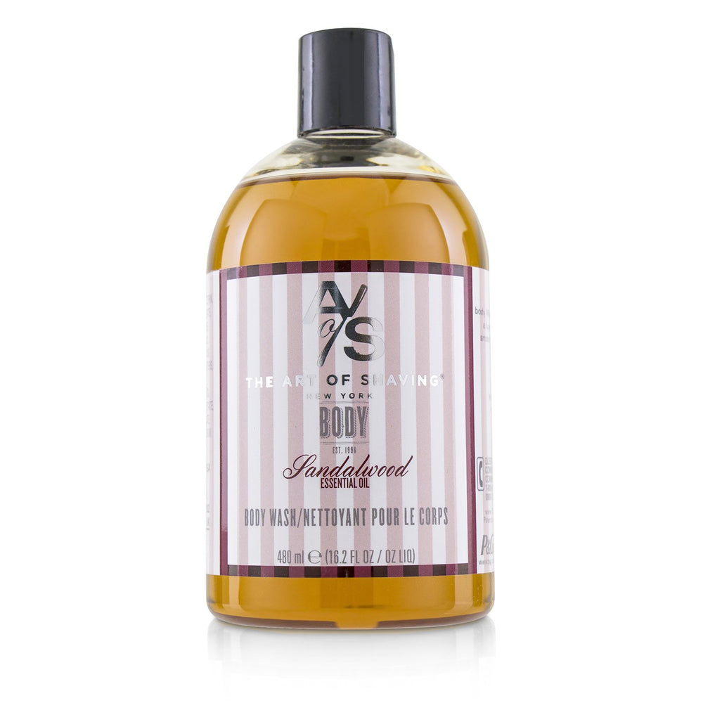 Body Wash Sandalwood Essential Oil 223935