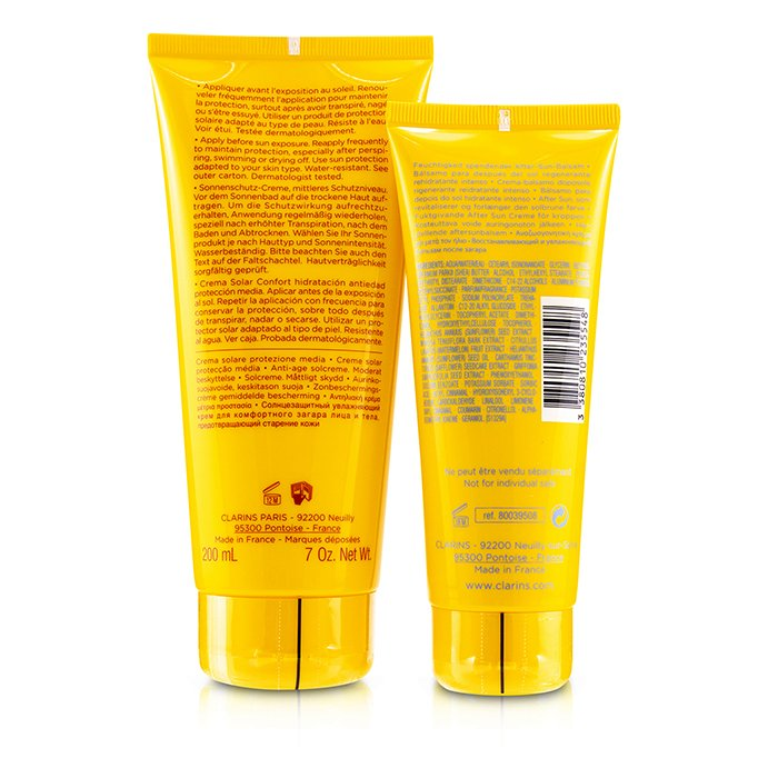 Sun Set Kit: Sun Care Cream Spf 20 200ml/7oz + After Sun Moisturizer 100ml/3.4oz