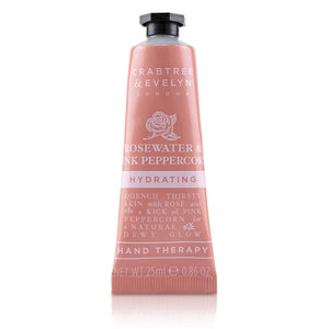 Rosewater & Pink Peppercorn Hydrating Hand Therapy - Crabtree & Evelyn - Frenshmo