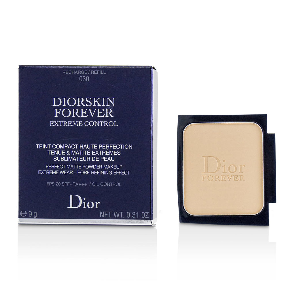 Diorskin Forever Extreme Control Perfect Matte Powder Makeup Spf 20 Refill # 030 Medium Beige 225376