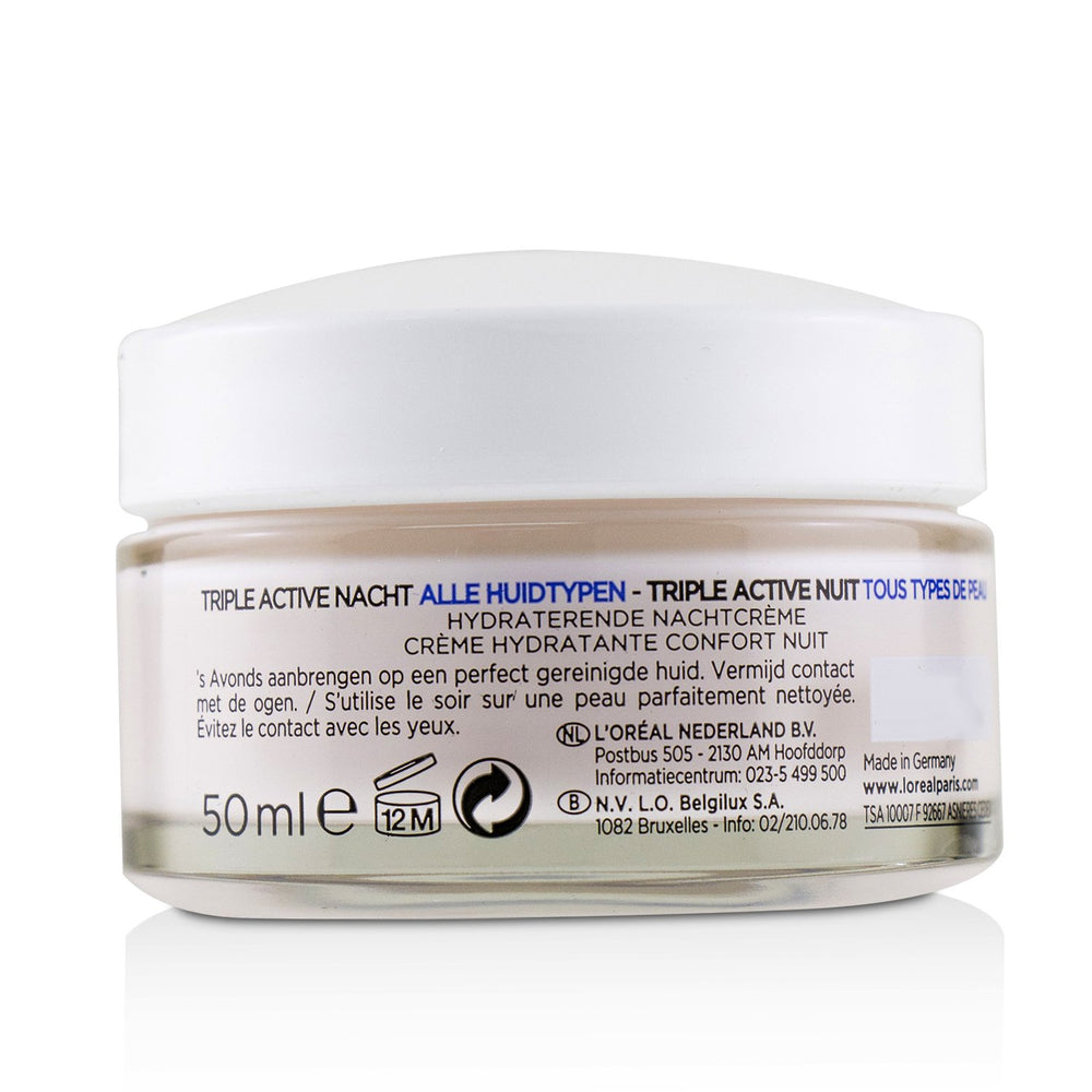 Triple Active Hydrating Night Cream 24 H Hydration   For All Skin Types