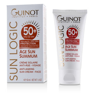 Load image into Gallery viewer, Sun Logic Age Sun Summum Ant Ageing Sun Cream For Face Spf 50+ 226182