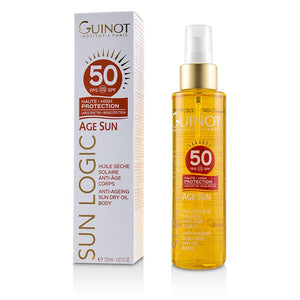 Load image into Gallery viewer, Sun Logic Age Sun Anti Ageing Sun Dry Oil For Body Spf 50 226183