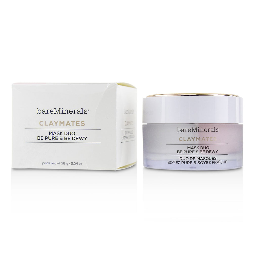 Claymates Be Pure & Be Dewy Mask Duo 229402