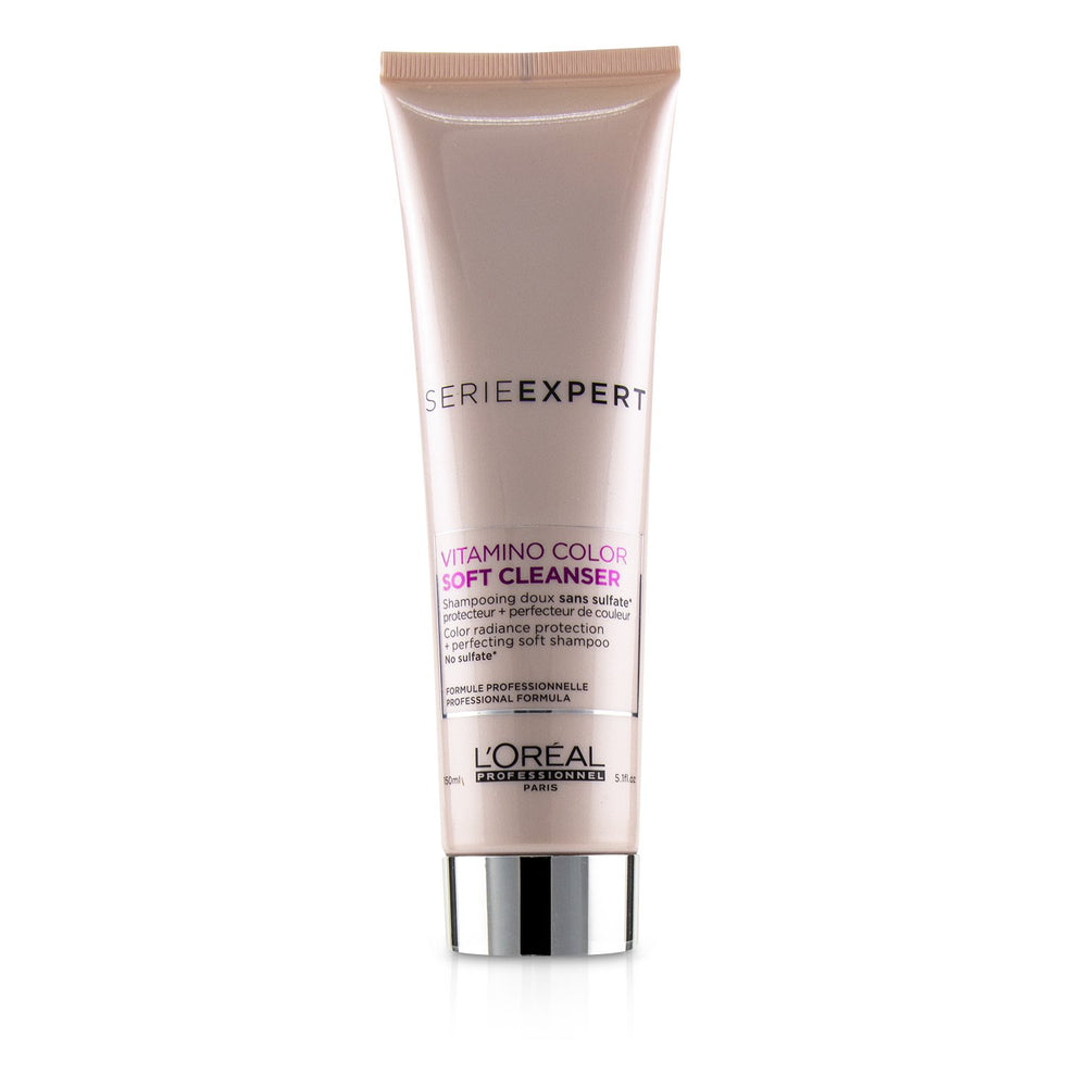 Professionnel Serie Expert   Vitamino Color Soft Cleanser Color Radiance Protection + Perfecting Soft Shampoo