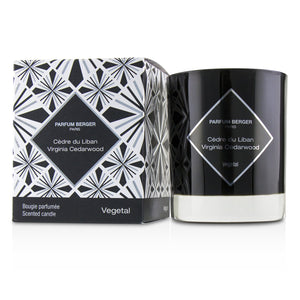 Graphic Candle   Virginia Cedarwood