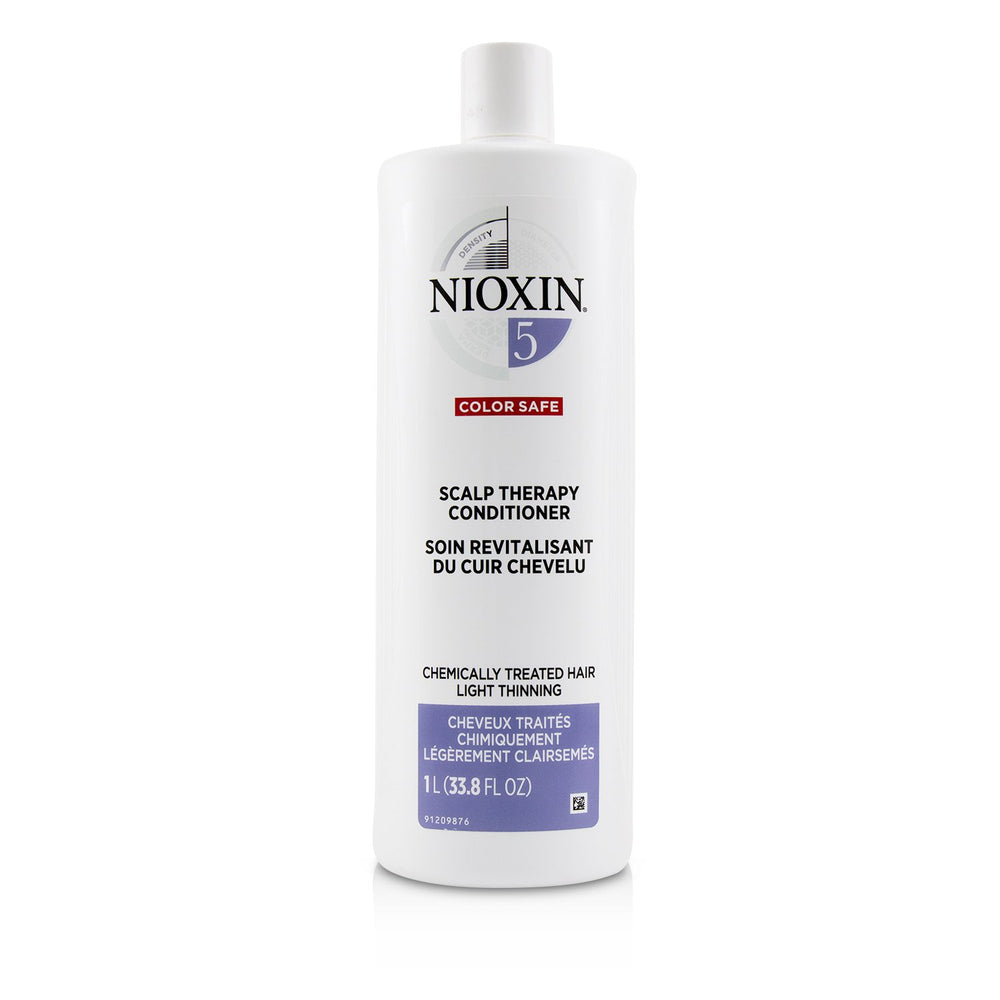 Density System 5 Scalp Therapy Conditioner (Chemically Treated Hair, Light Thinning, Color Safe)