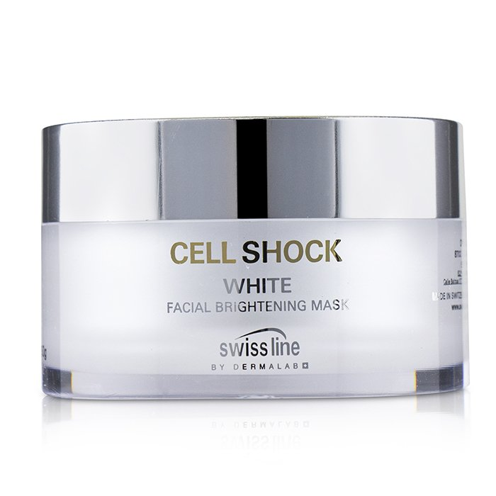 Cell Shock White Facial Brightening Mask 230816