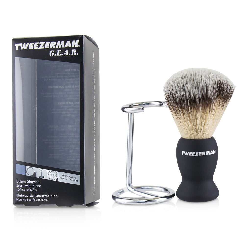G.E.A.R. Deluxe Shaving Brush With Stand