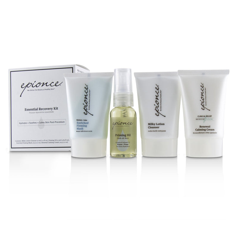 Essential Recovery Kit: Milky Lotion Cleanser 30ml+ Priming Oil 25ml+ Enriched Firming Mask 30g+ Renewal Calming Cream 30g 231327