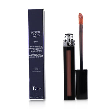 Rouge Dior Liquid Lip Stain - # 162 Miss Satin (Pinky Coral)