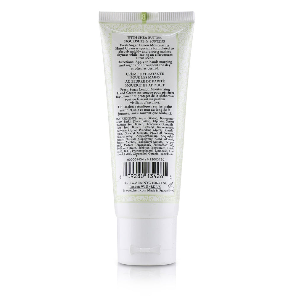 Sugar Lemon Moisturizing Hand Cream 232281