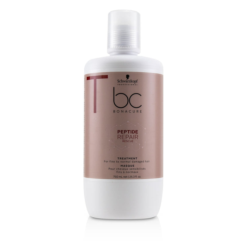 Bc Bonacure Peptide Repair Rescue Treatment (For Fine To Normal Damaged Hair) 232297