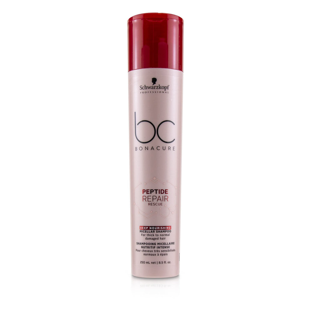 Bc Bonacure Peptide Repair Rescue Deep Nourishing Micellar Shampoo (For Thick To Normal Damaged Hair) 232299