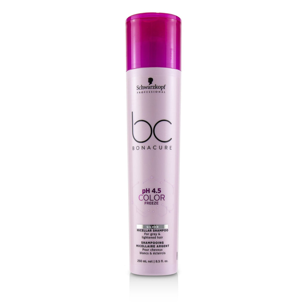 Bc Bonacure P H 4.5 Color Freeze Silver Micellar Shampoo (For Grey & Lightened Hair)
