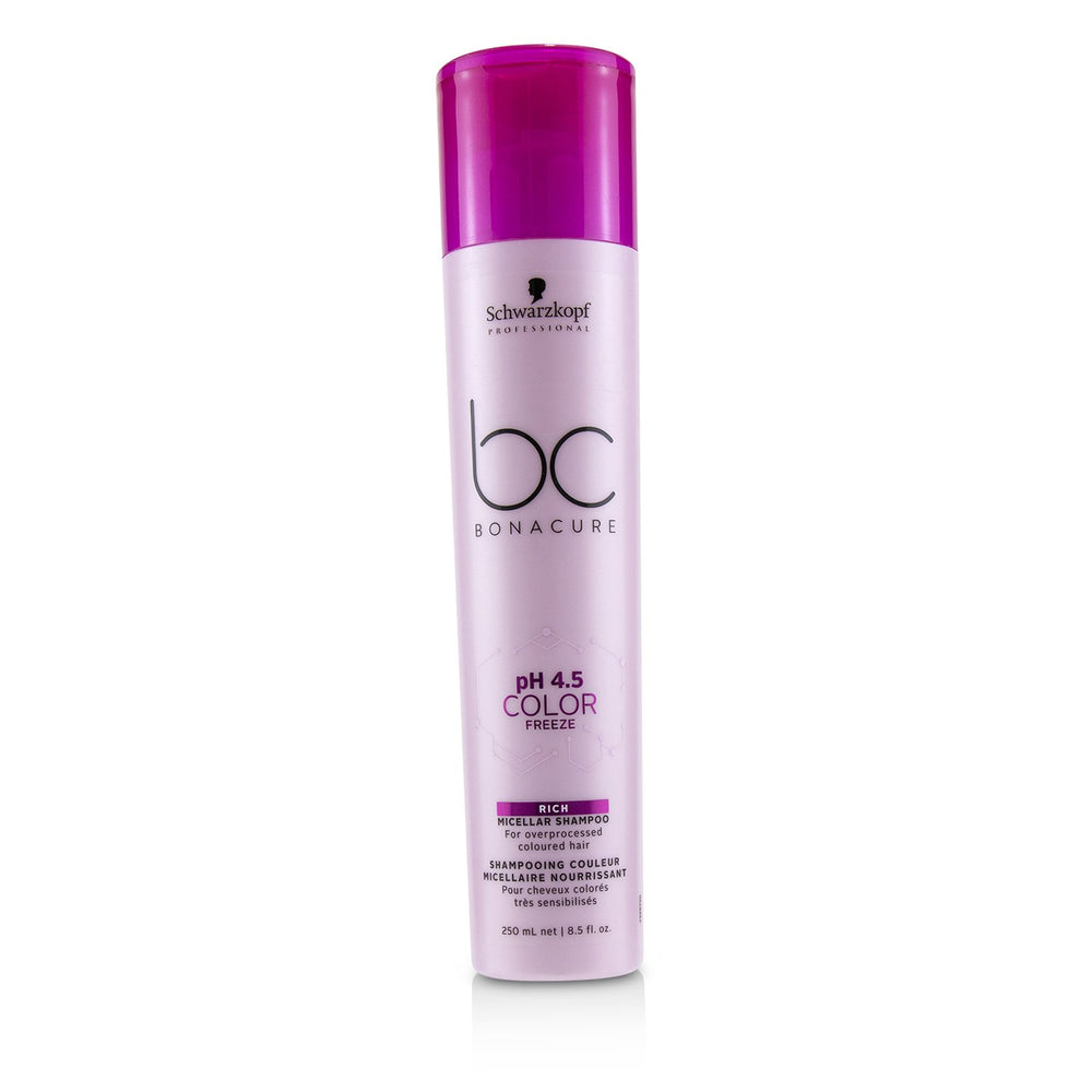 Bc Bonacure P H 4.5 Color Freeze Rich Micellar Shampoo (For Overprocessed Coloured Hair)