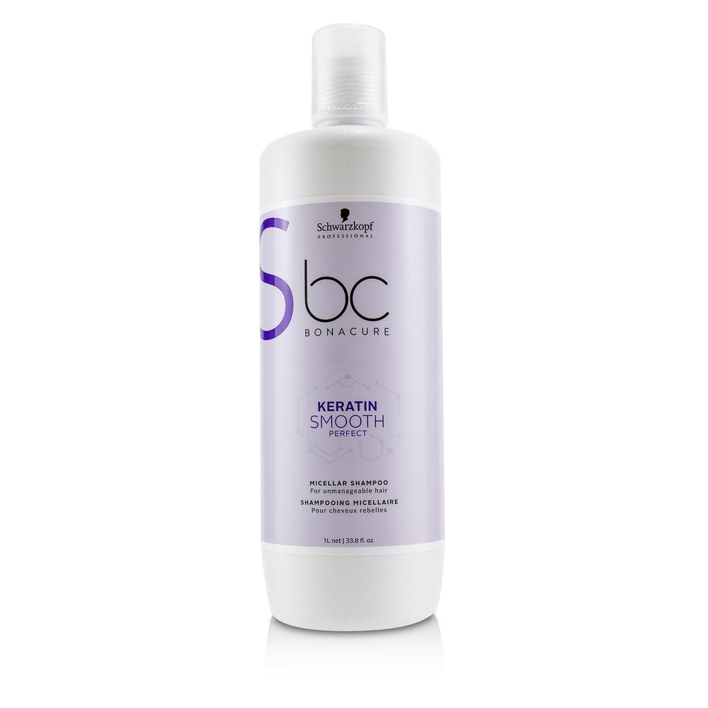 Bc Bonacure Keratin Smooth Perfect Micellar Shampoo (For Unmanageable Hair)