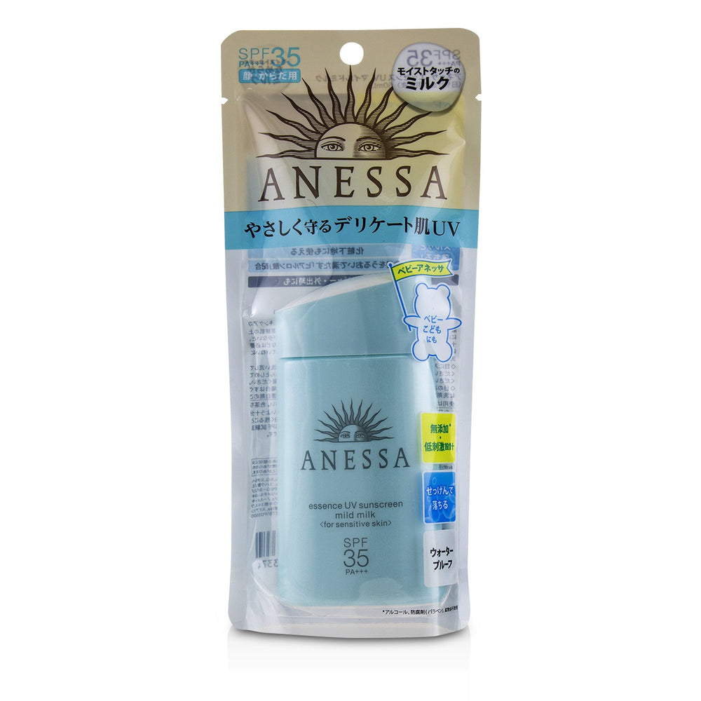 Anessa Essence Uv Sunscreen Mild Milk (For Sensitive Skin) Spf35 Pa++++ 234736