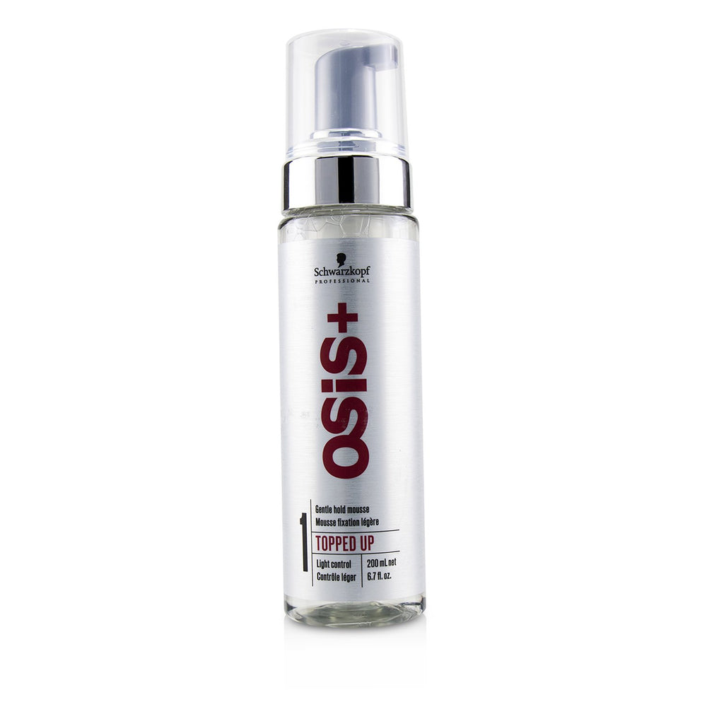 Osis+ Topped Up Gentle Hold Mousse (Light Control)