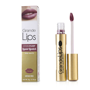 Load image into Gallery viewer, Grande Lips Plumping Liquid Lipstick (Semi Matte)   # Vintage Rose