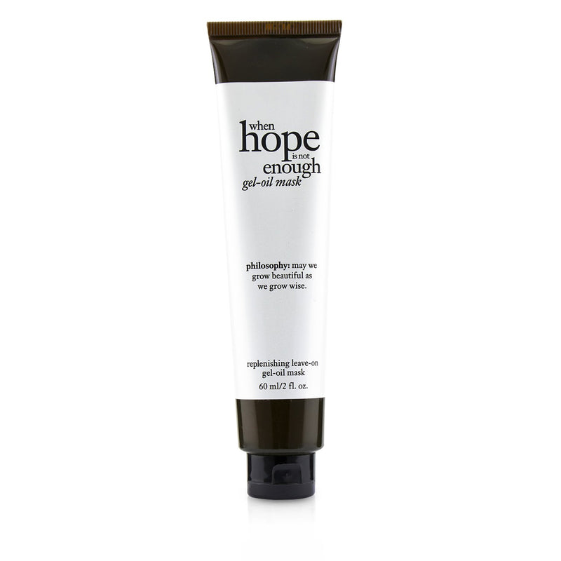 When Hope Is Not Enough Gel Oil Mask 235627