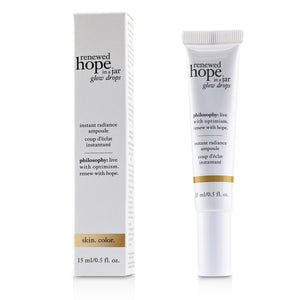 Renewed Hope In A Jar Glow Drops Instant Radiance Ampoule 235636