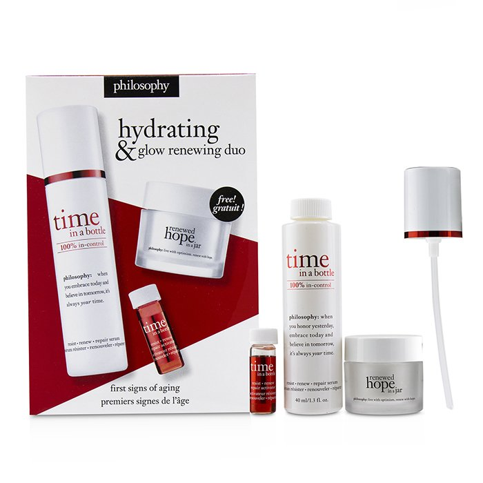 Hydrating & Glow Renewing Duo: Time In A Bottle Serum+Activator+Renewed Hope In A Jar 236299