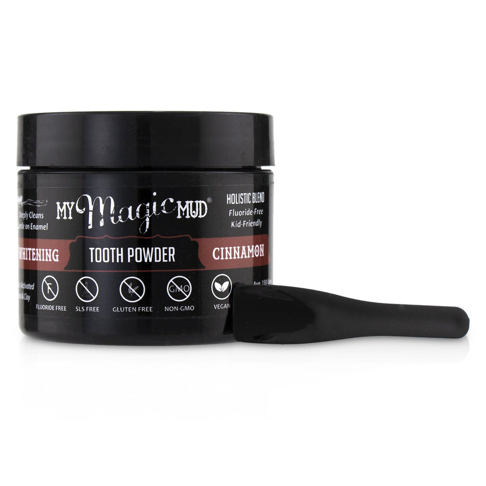 Activated Charcoal Whitening Tooth Powder   Cinnamon