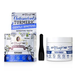 Turmeric Whitening Tooth Powder Peppermint 237386