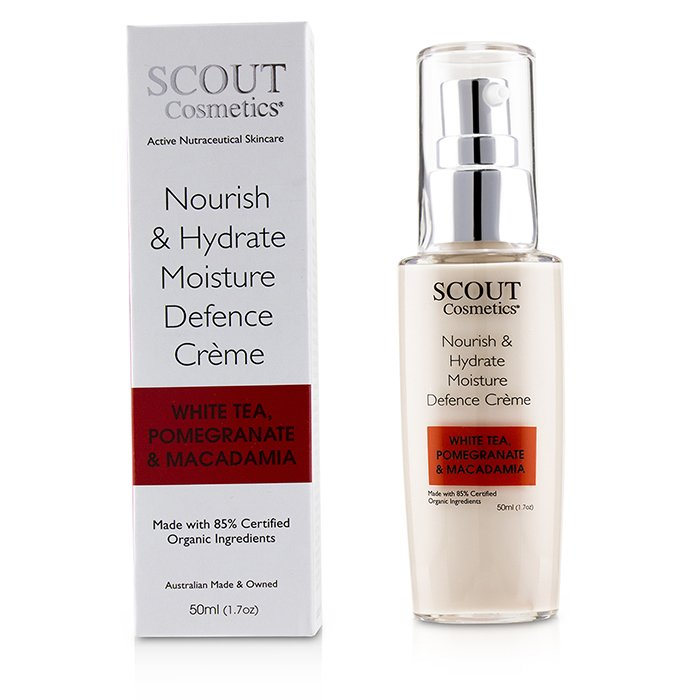 Nourish & Hydrate Moisture Defence Creme With White Tea, Pomegranate & Macadamia 238211