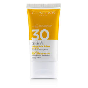 Invisible Sun Care Gel To Oil For Face Spf 30
