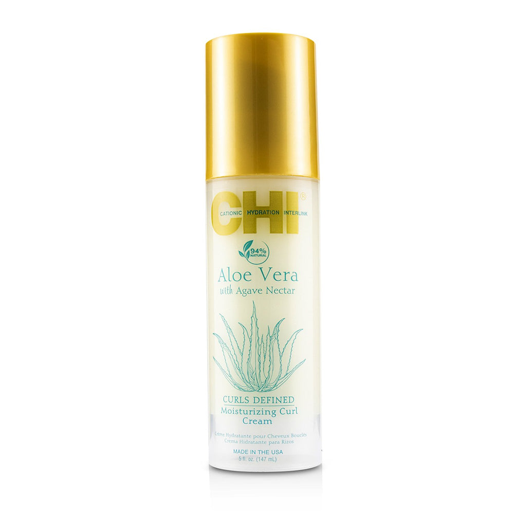 Aloe Vera With Agave Nectar Curls Defined Moisturizing Curl Cream