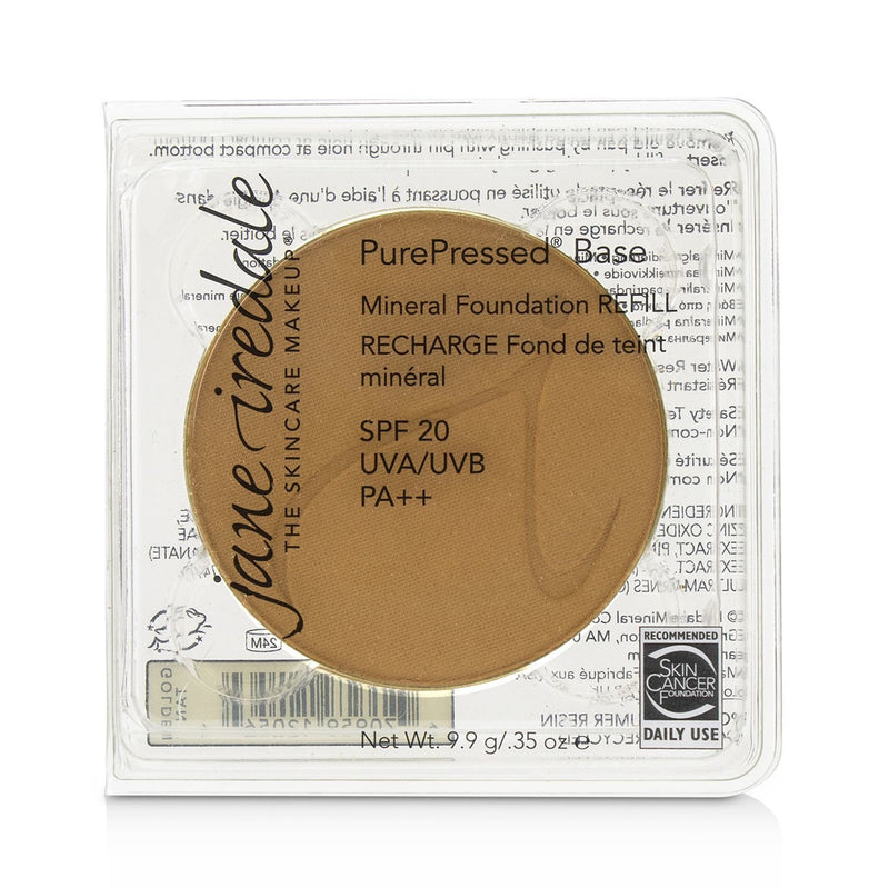 Pure Pressed Base Mineral Foundation Refill Spf 20 Golden Tan 238803
