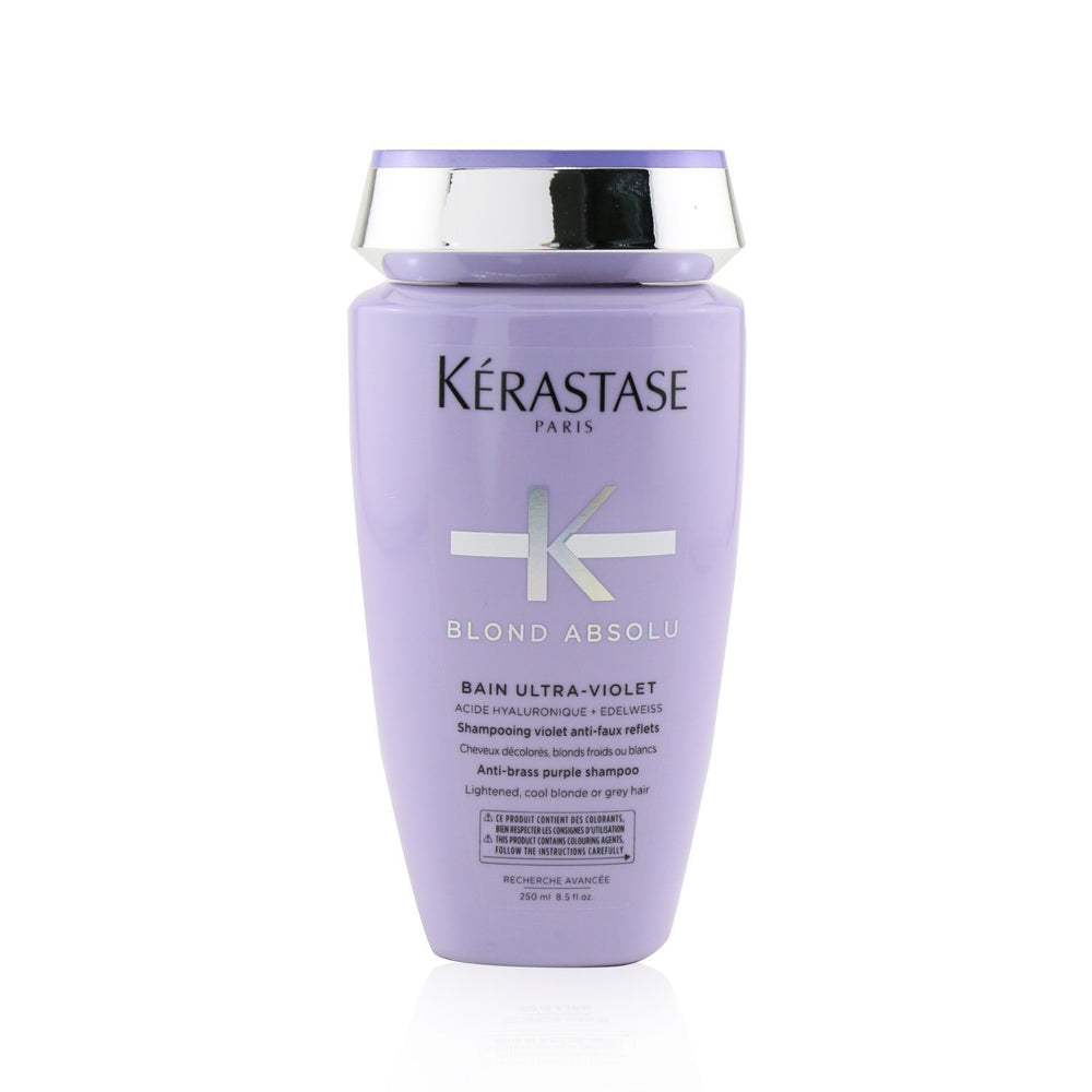 Blond Absolu Bain Ultra Violet Anti Brass Purple Shampoo (Lightened, Cool Blonde Or Grey Hair) 239320