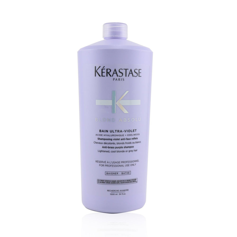 Blond Absolu Bain Ultra Violet Anti Brass Purple Shampoo (Lightened, Cool Blonde Or Grey Hair) 239323