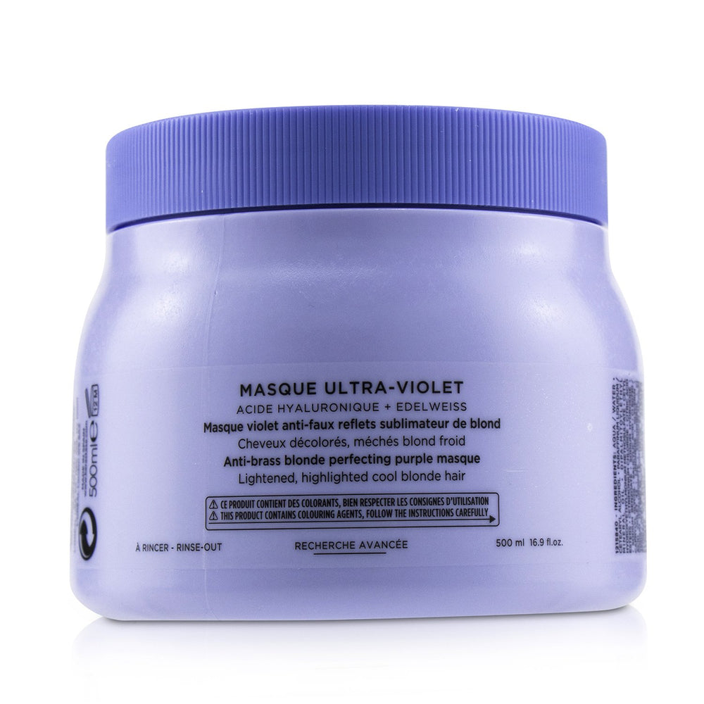 Blond Absolu Masque Ultra Violet Anti Brass Blonde Perfecting Purple Masque (Lightened Cool Blonde Hair) 239338