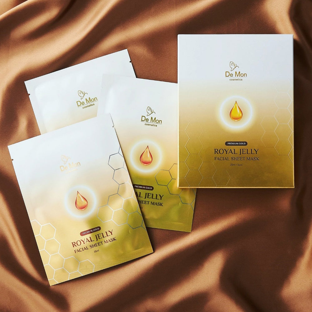 Gold Royal Jelly Facial Sheet Mask 239654