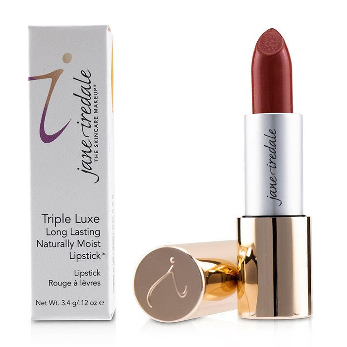 Triple Luxe Long Lasting Naturally Moist Lipstick   # Jessica (Dark Peach With Red Undertones)
