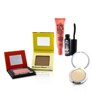 Load image into Gallery viewer, Travel Size Classics Set (1x Shadow/Blush, 1x Bronzer, 1x Mascara, 1x Primer, 1x Highlighter/Shadow) 241926