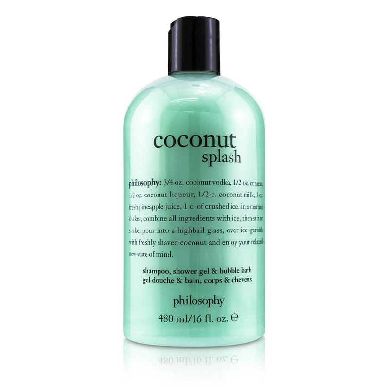 Coconut Splash Shampoo, Shower Gel & Bubble Bath 242108