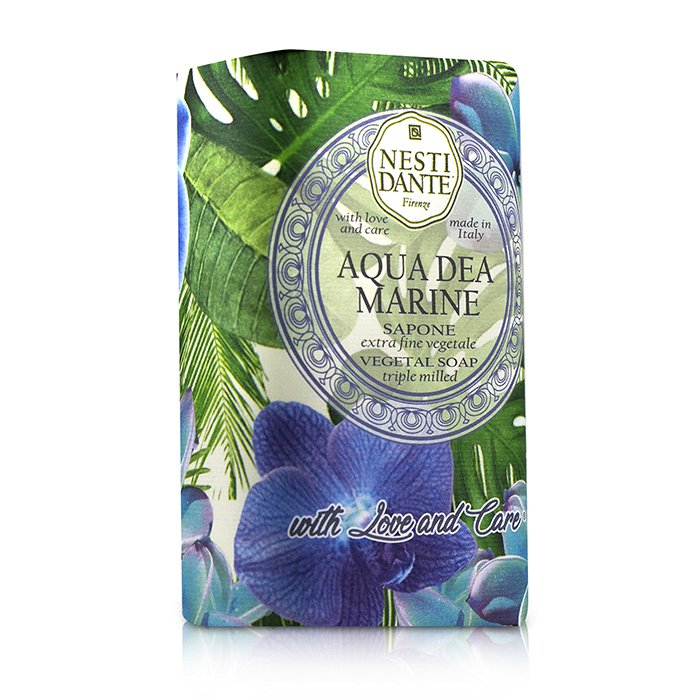 Triple Milled Vegetal Soap With Love & Care Aqua Dea Marine 242684