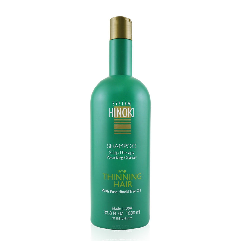 Hinoki Shampoo Scalp Therapy Volumizing Cleanser (For Thinning Hair)